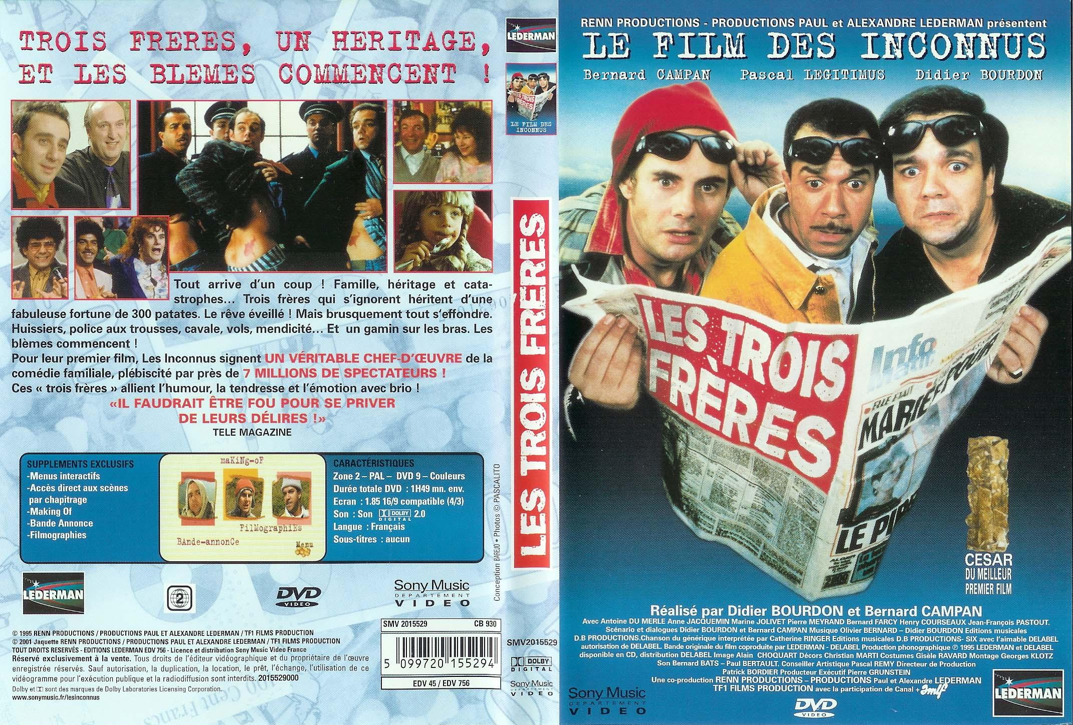 Les Trois Frere FRENCH DVDRiP DivX By Stoned Raiders [Tino2008] preview 0